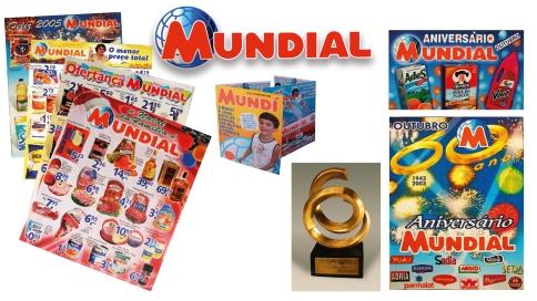 MUNDIAL - Foram quatro anos com a conta na MKTMIX Comunicação e o trabalho incluiu todas as etapas do marketing mix e, logo, da comunicação visual.