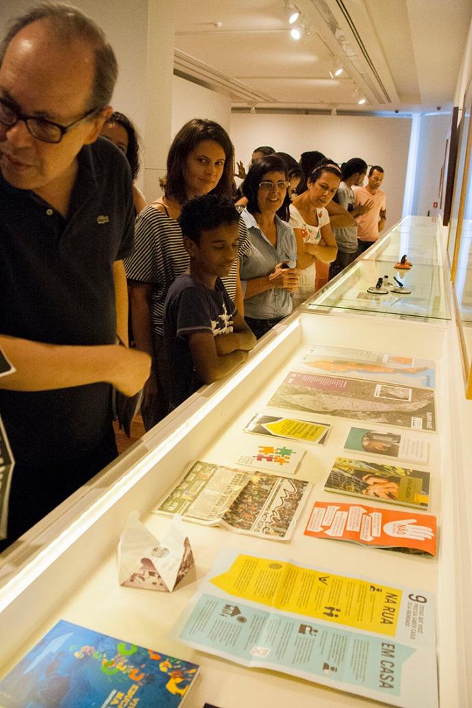 No Museu de Arte do Rio, a capa da edição 46.
