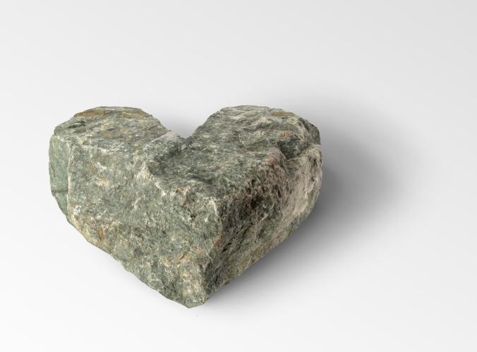 """""""Coração de pedra"""" - 2008"""
